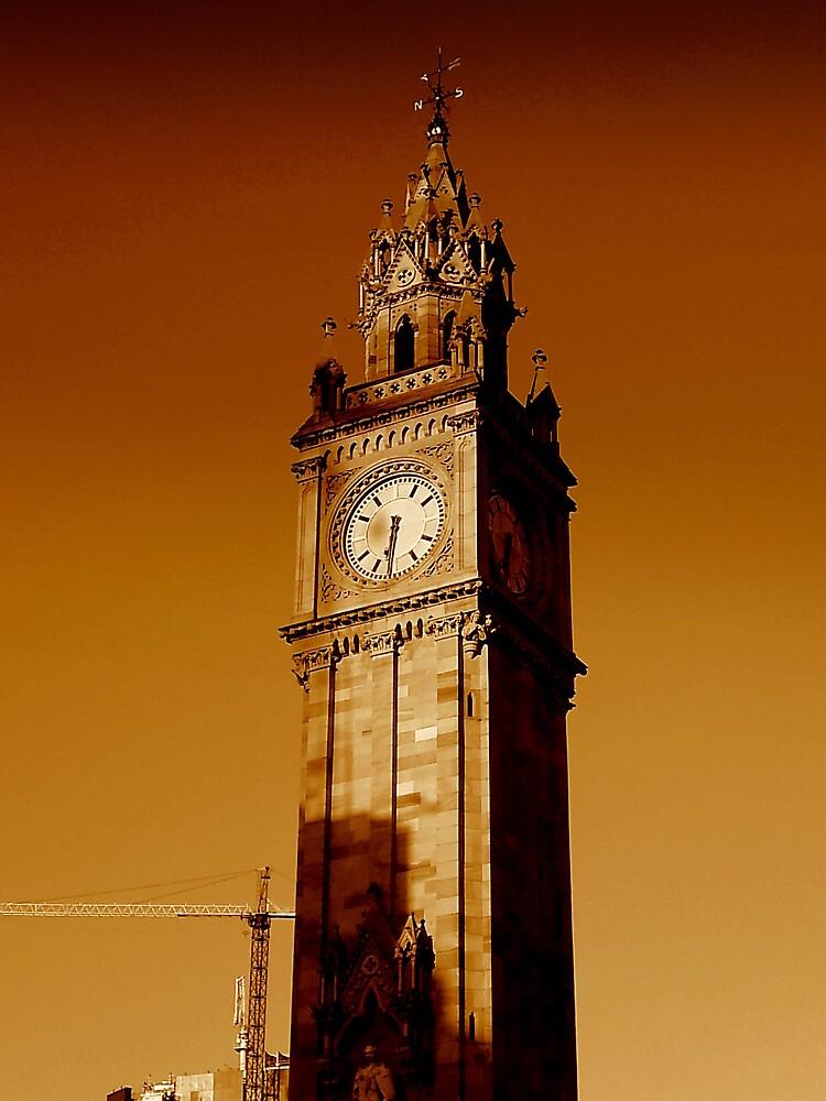 Albert Clock Belfast by Chris Millar  Redbubble