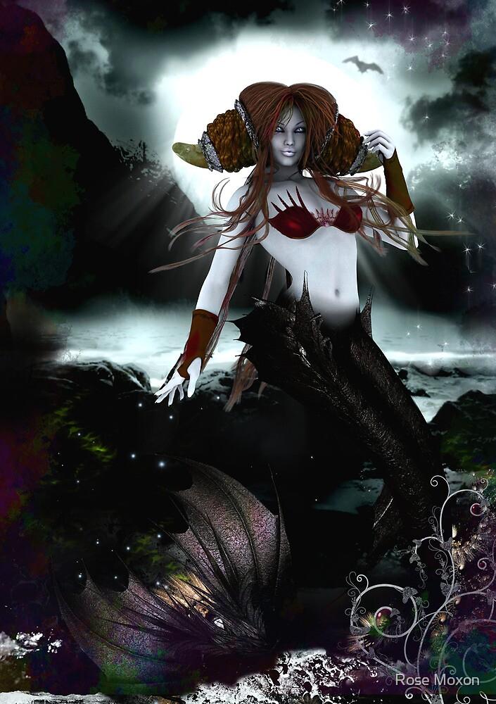 The Dark Mermaid by Rose Moxon  Redbubble