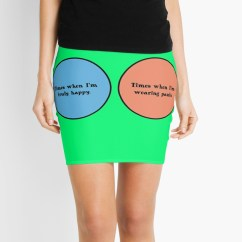 Diagram Of A Nerd 2 Way Light Switch Quotvenn Geek Funny Quot Mini Skirts By Sayasiti