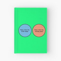 Diagram Of A Nerd 0 Amperage Macbook Battery Venn Geek Funny Hardcover Journals By Sayasiti Redbubble