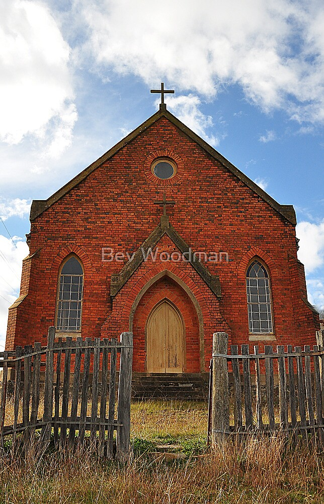 Abandoned Church  Hill End NSW by Bev Woodman  Redbubble