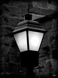 """""""Lamp Post at Night"""" by vigor   Redbubble"""