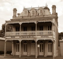 """ Imperial Hotel Castlemaine Victoria"" Ian"