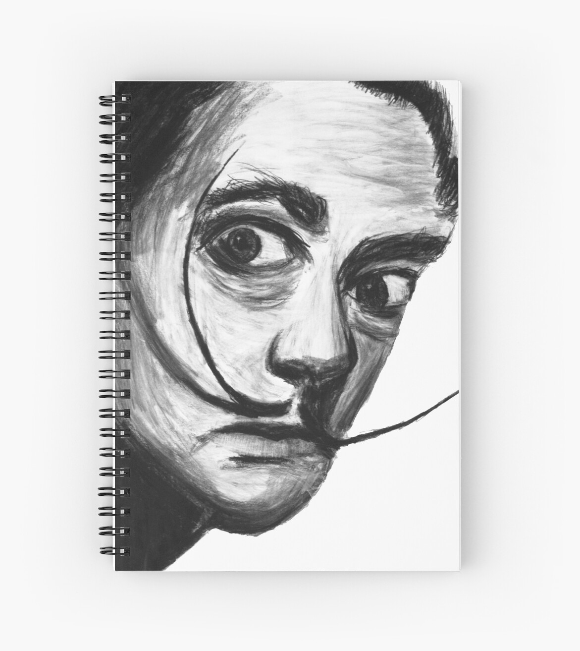 Salvador Dali And The Magnificent Mustache Spiral