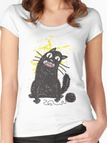 Black Cat Drawing Shirts