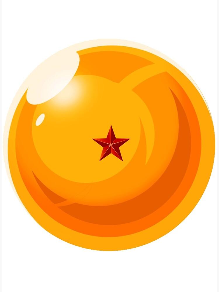 Boules De Cristal Dragon Ball : boules, cristal, dragon, Impression, Toile, Boule, Cristal, Dragon, ARiatrix, Redbubble