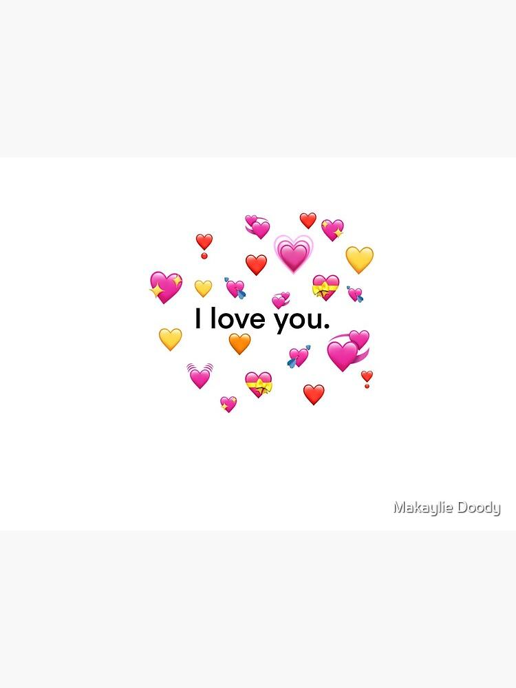 I Love U Emoji : emoji, Emoji, Hearts
