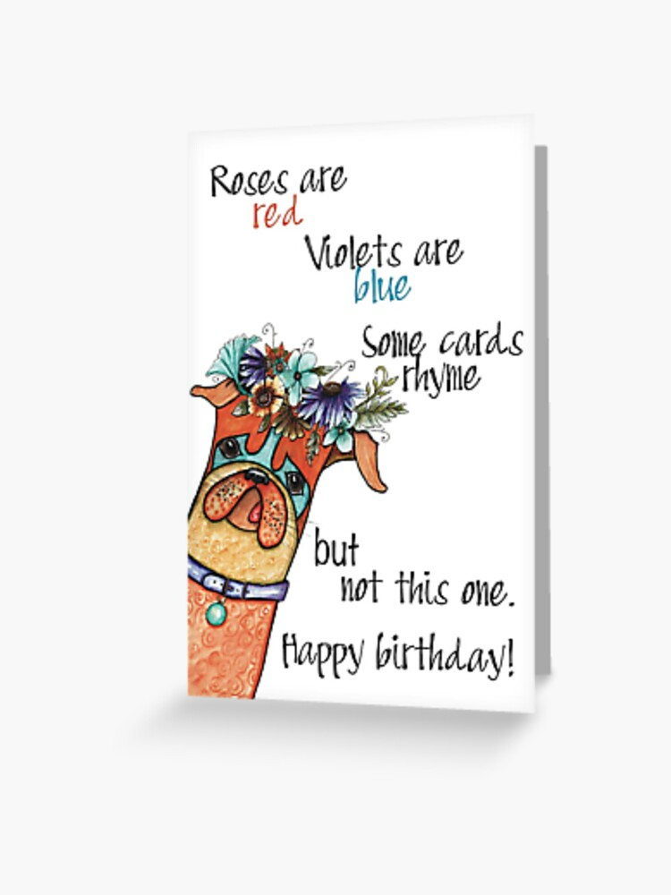Roses Are Red Violets Are Blue Birthday : roses, violets, birthday, Roses, Violets, Blue
