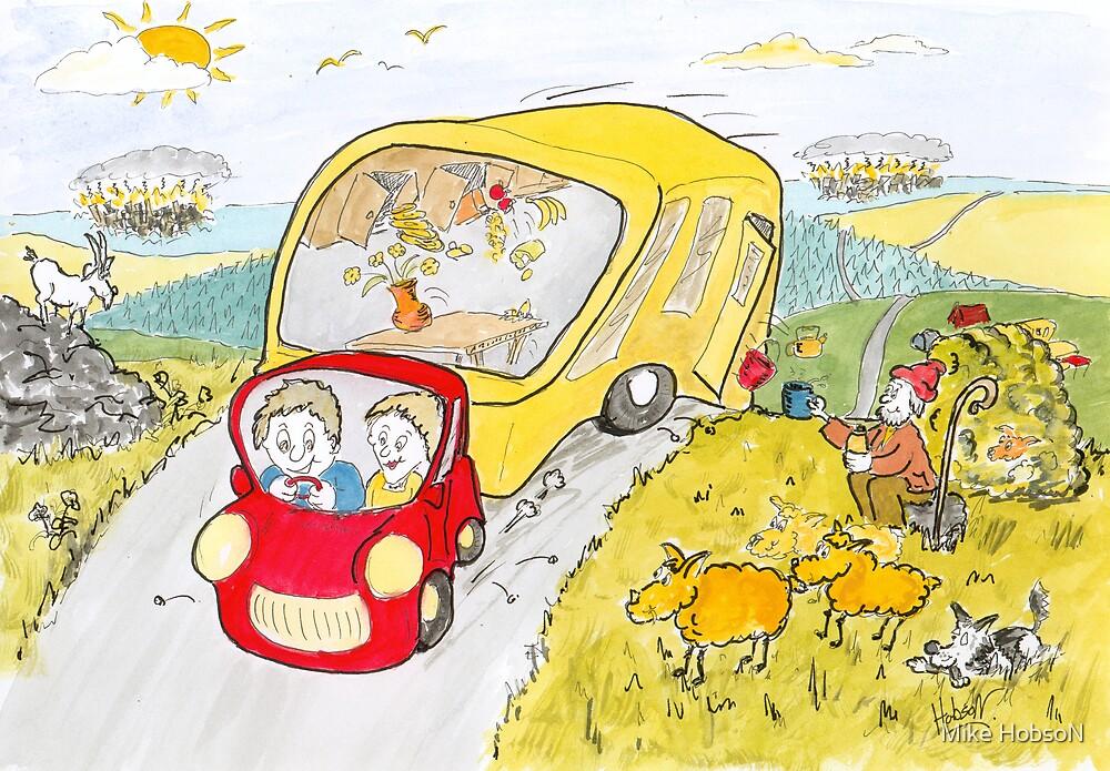 Caravan Fun by Mike HobsoN  Redbubble