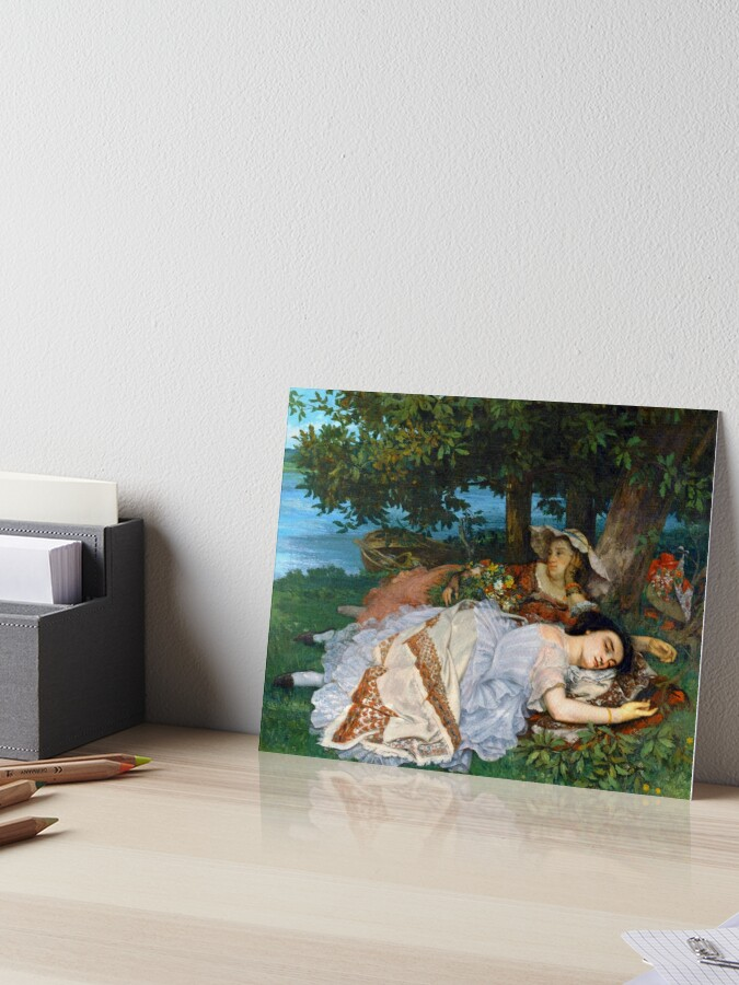 Les Demoiselles Des Bords De La Seine : demoiselles, bords, seine, Gustave, Courbet,