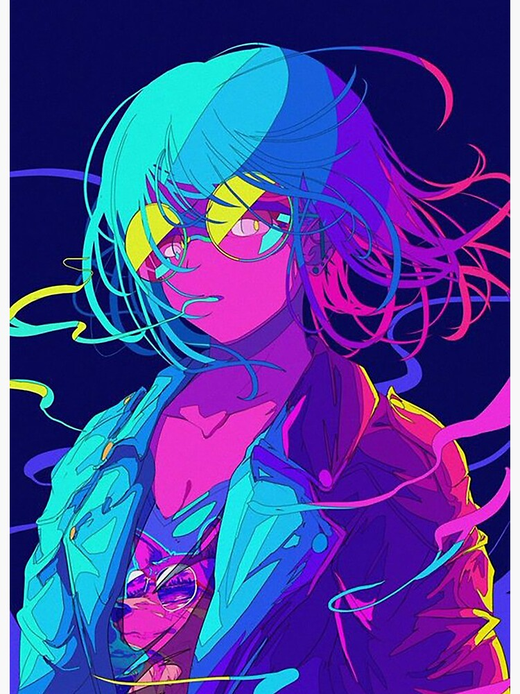 Neon Anime Girl Wallpapers - Top Free... - https://hdwallpaper.wiki