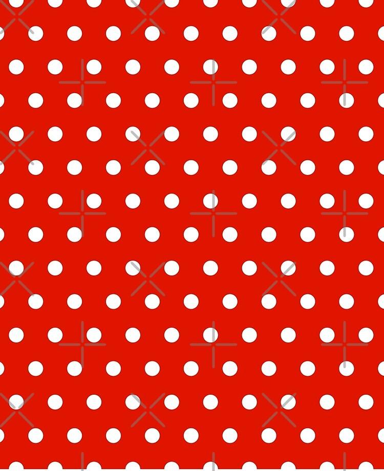 Red And White Polka Dot Background : white, polka, background, Small, White, Polka, Background