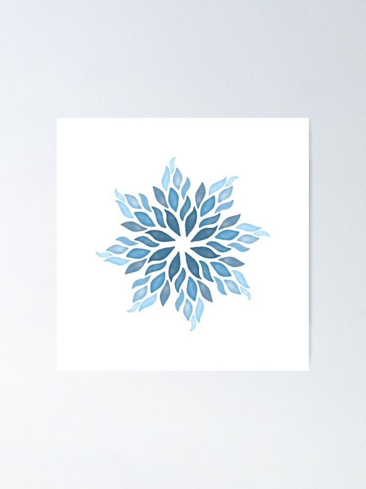 Snowflake Mandala : snowflake, mandala, Snowflake, Mandala