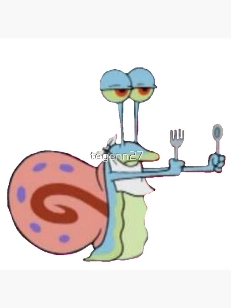 Gary The Snail : snail, Hungry, Snail