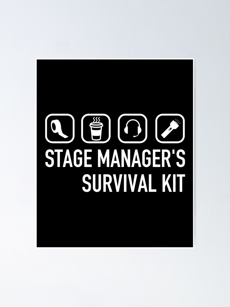 Manager Survival Kit Funny : manager, survival, funny, Stage, Manager, Definition, Funny, Survival, Symbols