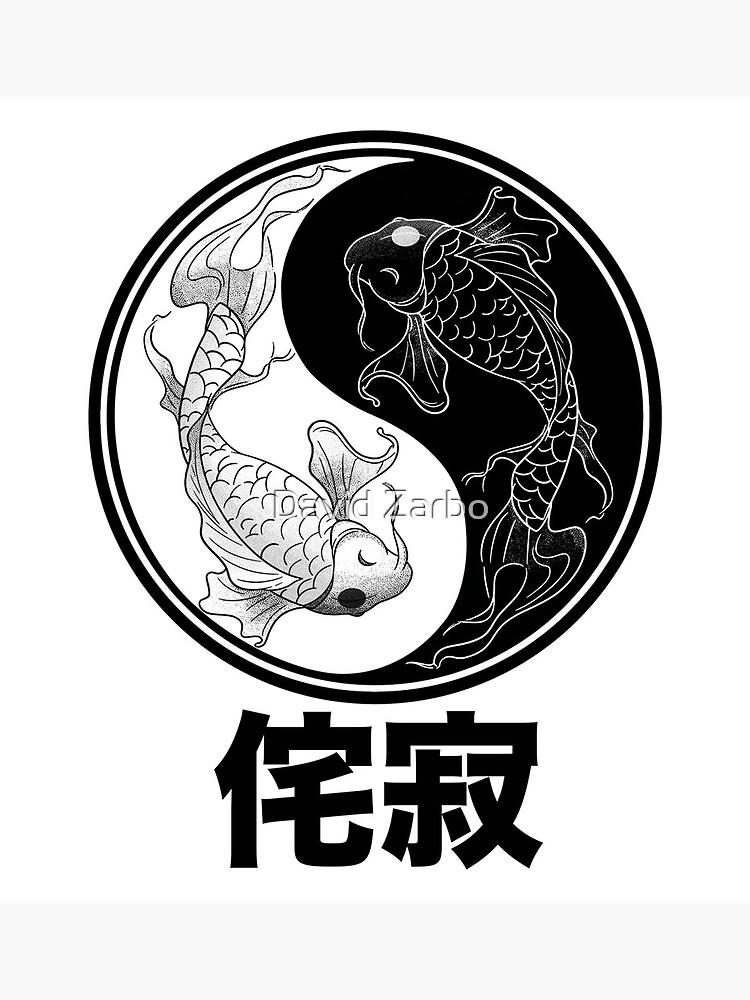 Koi Fish Circle : circle, Circle, Wabi-Sabi