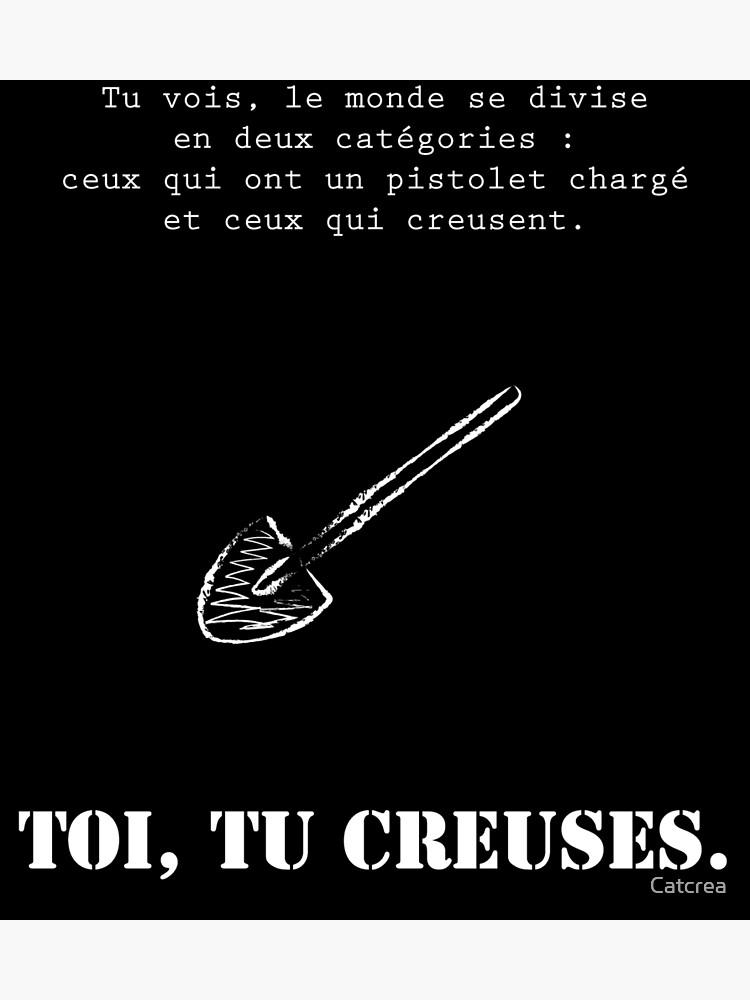 Le Bon La Brute Et Le Truand Citation : brute, truand, citation, Creuses