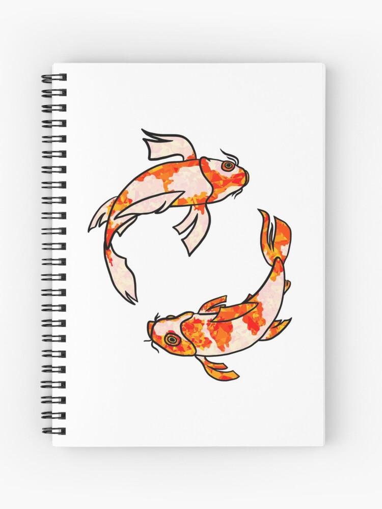 Koi Fish Circle : circle, Swimming, Circle