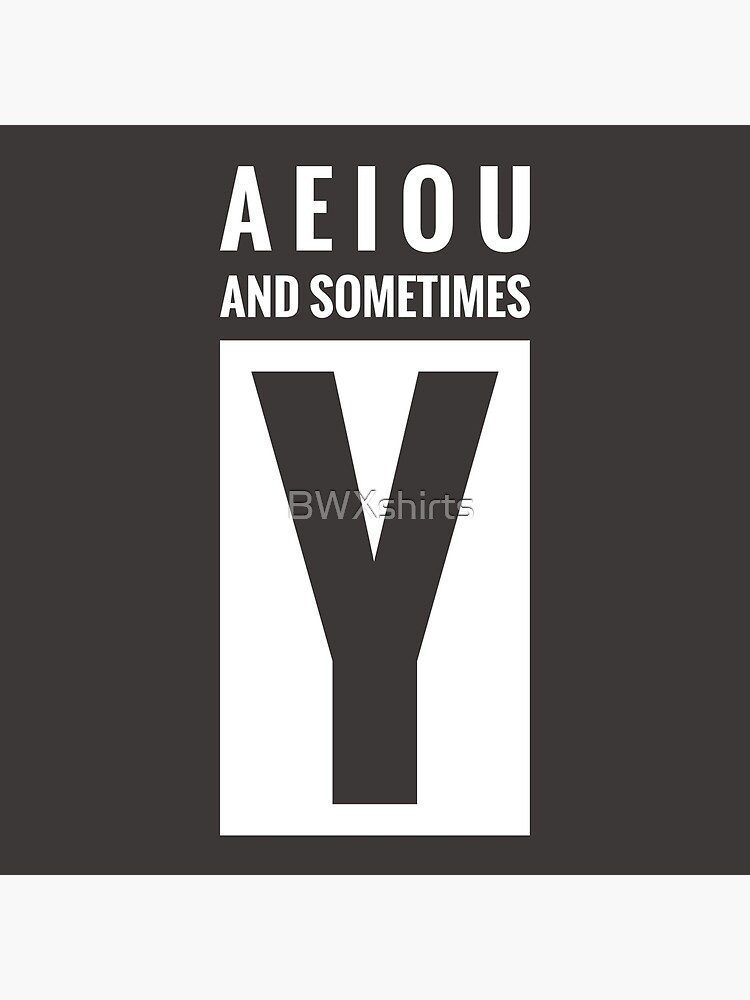 Sometimes Y : sometimes, SOMETIMES, Board, Print, BWXshirts, Redbubble