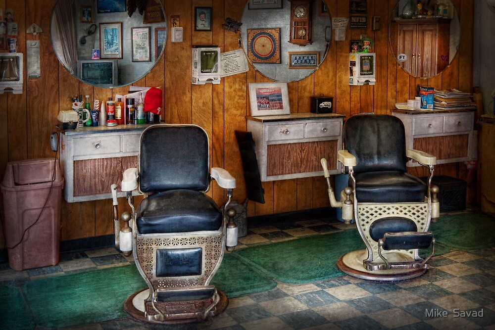 old barber chairs a chairde
