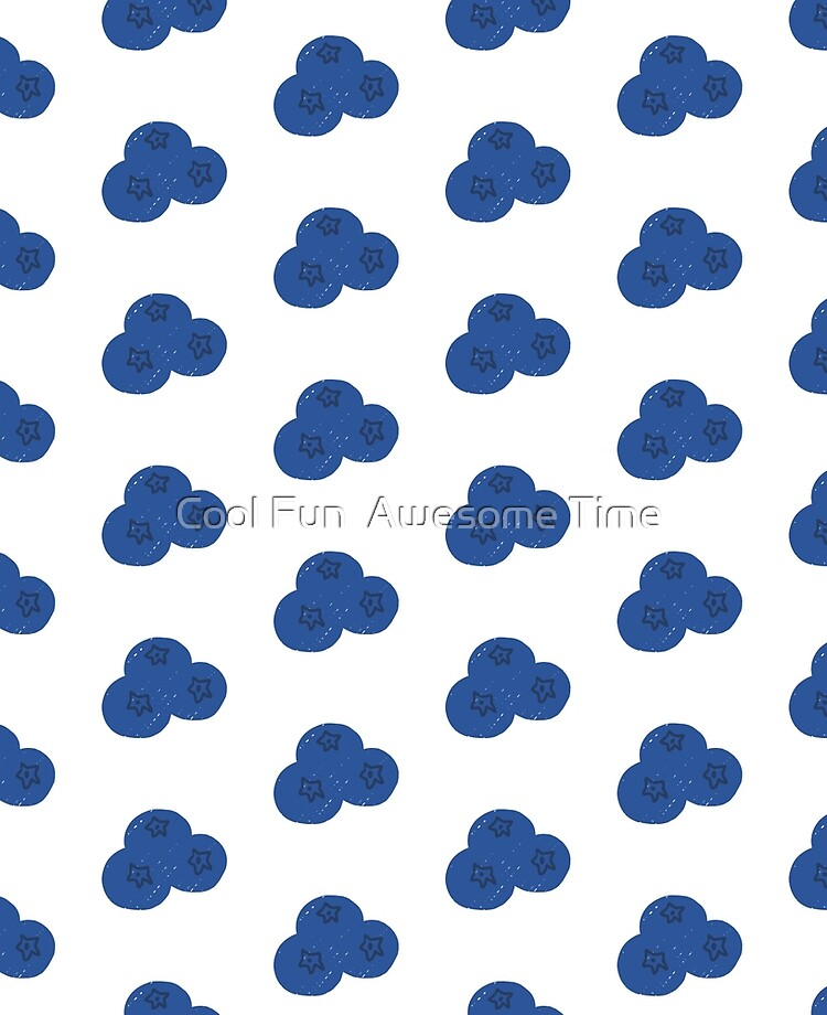 Blueberry Pattern : blueberry, pattern, Blueberry, Print, Pattern