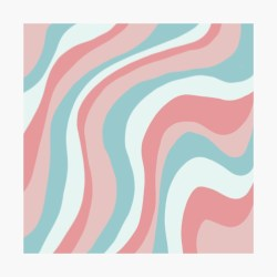 Aesthetic wallpaper with color lines Poster by Pastel PaletteD Redbubble