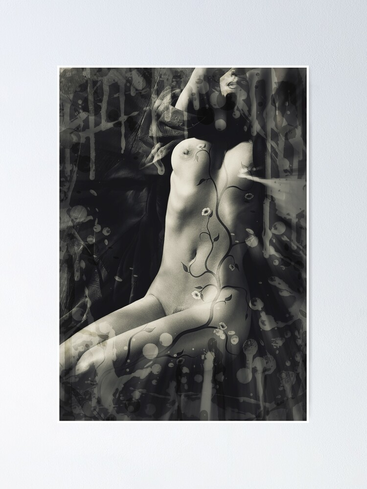 Photo Artistique Corps Femme : photo, artistique, corps, femme, Poster, Oeuvre, Artistique, Abstraite, Corps, Femme, Impression, Photo, D'art, Conception, Fleur, Cerisier, AwenArtPrints, Redbubble