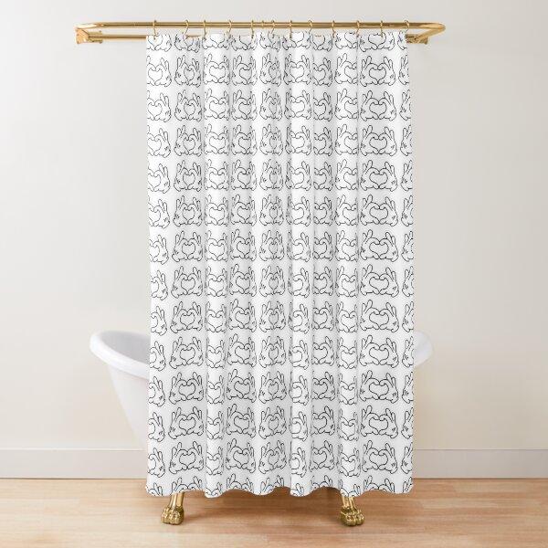 minnie shower curtains redbubble