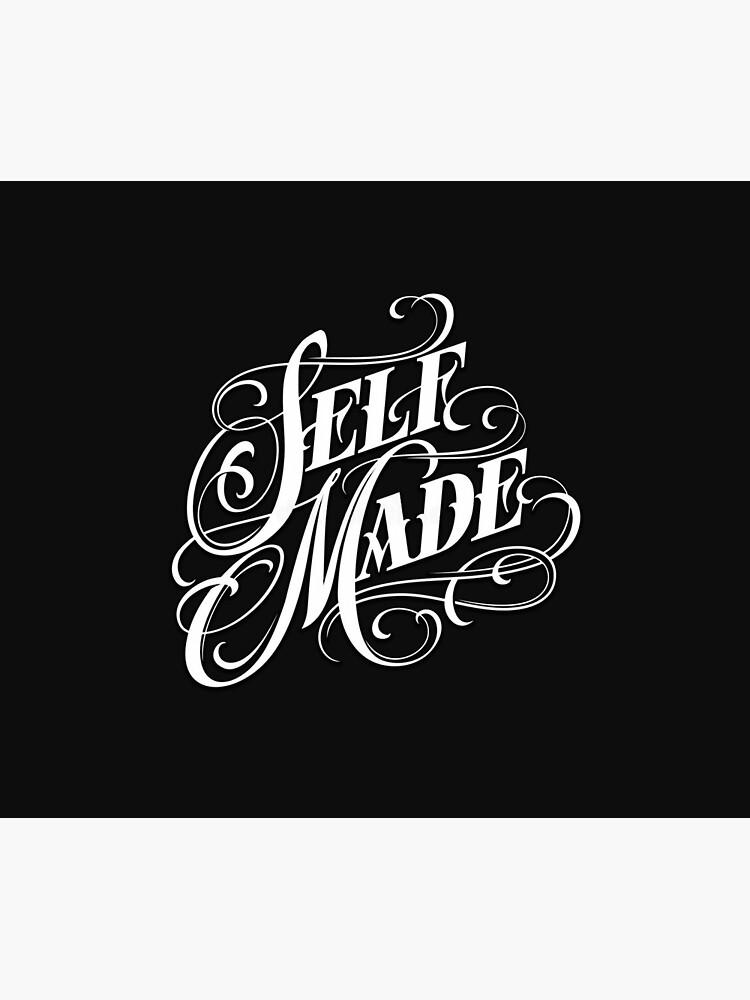 Self Made Tattoo Ideas : tattoo, ideas, Chicano, Lettering, Tattoo, Design, Duvet, Cover, Hasha101, Redbubble