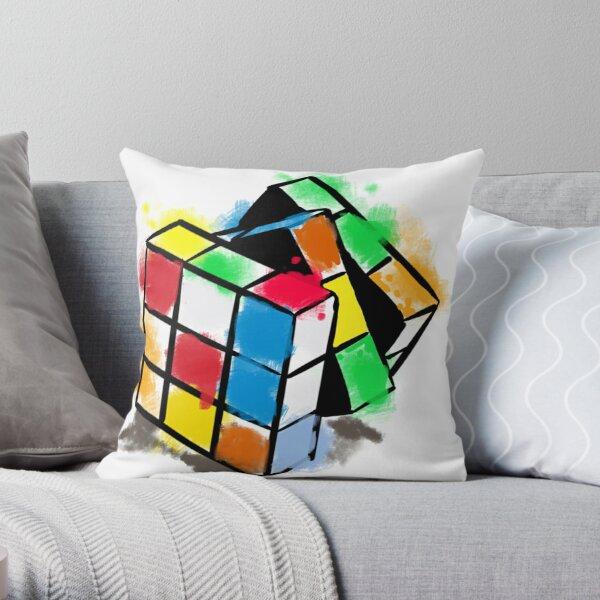 rubiks cube pillows cushions redbubble