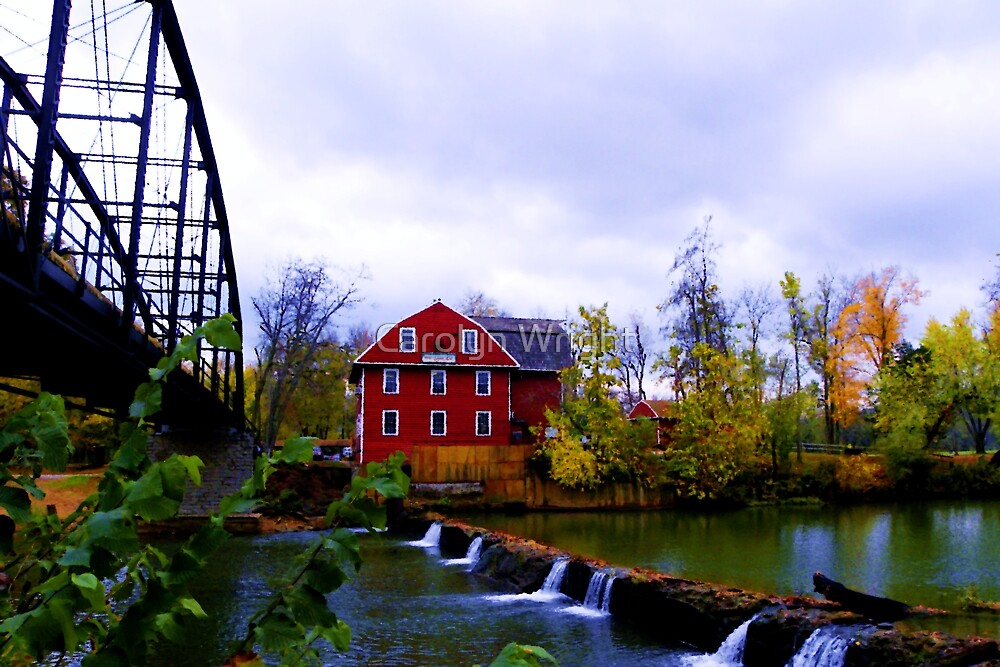 Scenic War Eagle Mill Rogers Arkansas By Carolyn