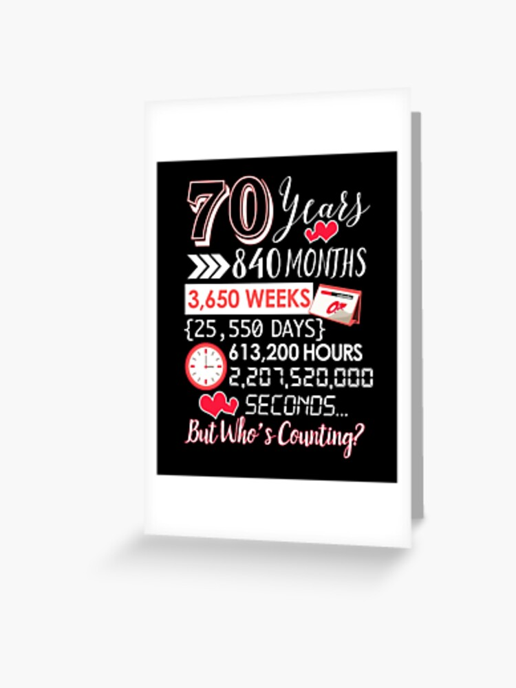 70th Wedding Anniversary Gifts : wedding, anniversary, gifts, Years, Marriage, Happily, Married, Couple, Wedding, Anniversary, Gift