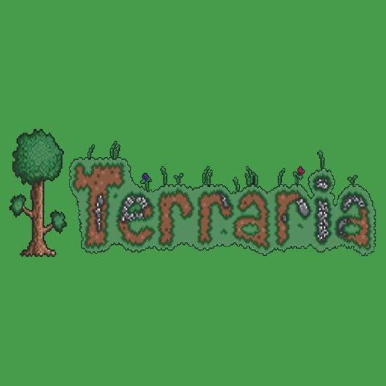 Terraria Logo TShirts  Hoodies by Kelhagen  Redbubble