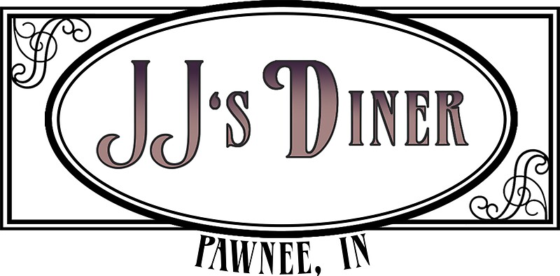 JJs Diner Parks And Recreation Stickers By Icetown
