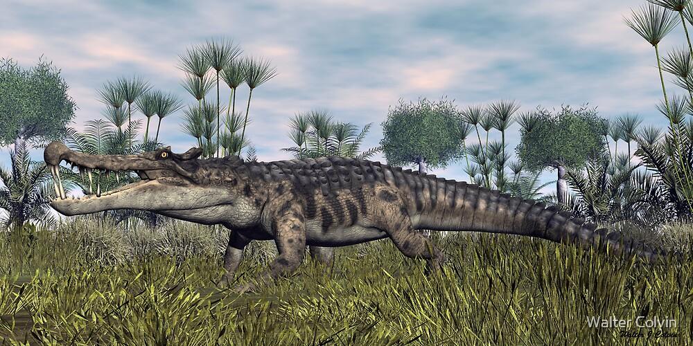 Kaprosuchus by Walter Colvin  Redbubble