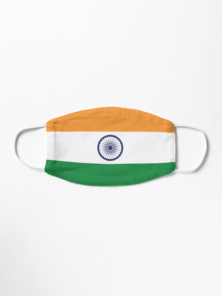 Indian Flag Face Mask Mask By Printedgifts Redbubble