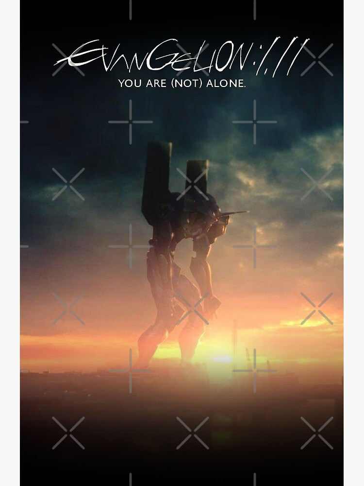 Evangelion 1.0 You Are Not Alone : evangelion, alone, Evangelion:, (Not), Alone, Movie, Poster