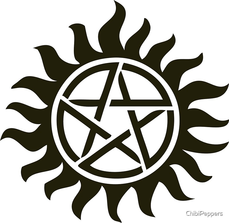 Anti Demon Symbol Tattoo