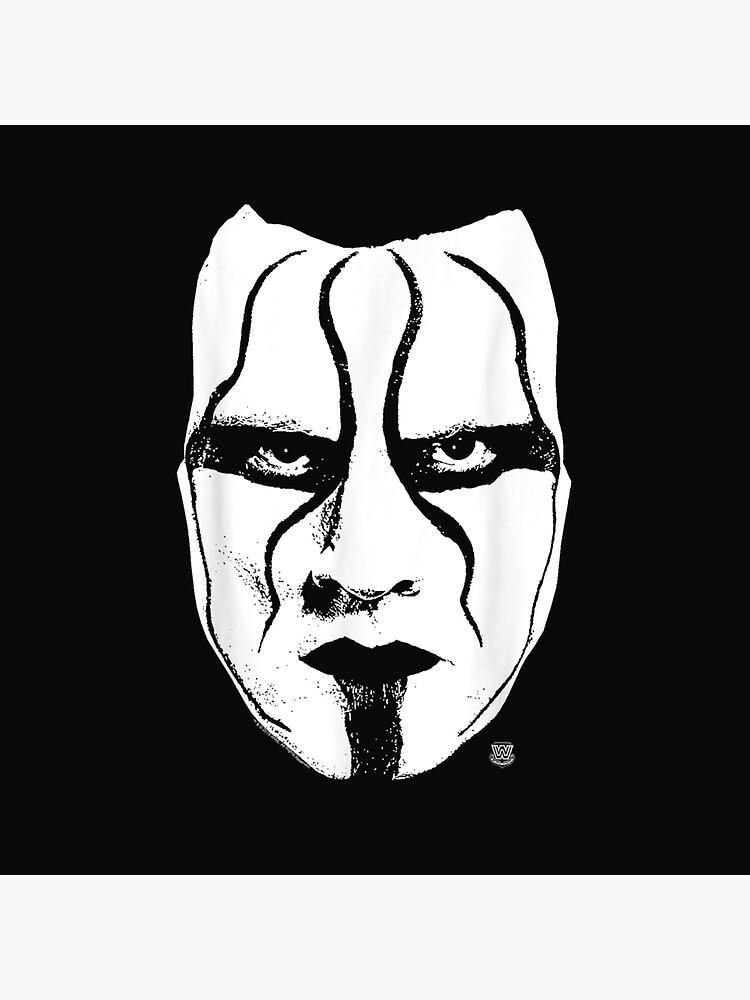 Sting Face Paint : sting, paint, W.W.E, Sting, Paint
