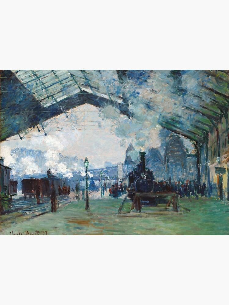 Claude Monet Gare Saint Lazare : claude, monet, saint, lazare, Claude, Monet, Arrival, Normandy, Train,, Saint-Lazare