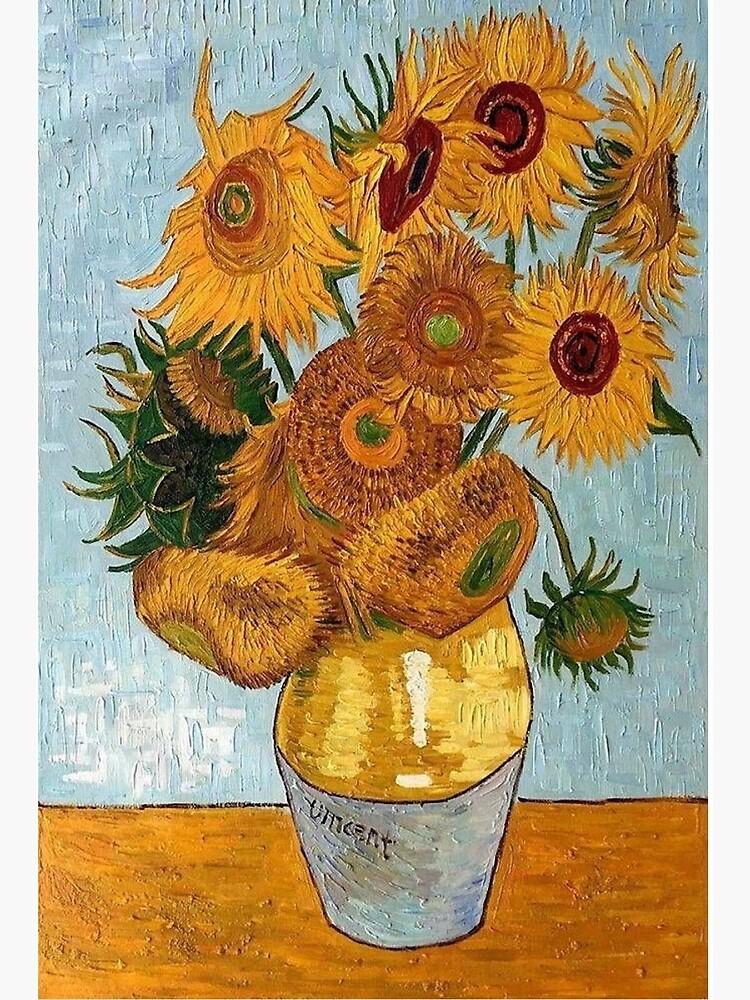 Les Tournesols De Van Gogh : tournesols, Tournesols