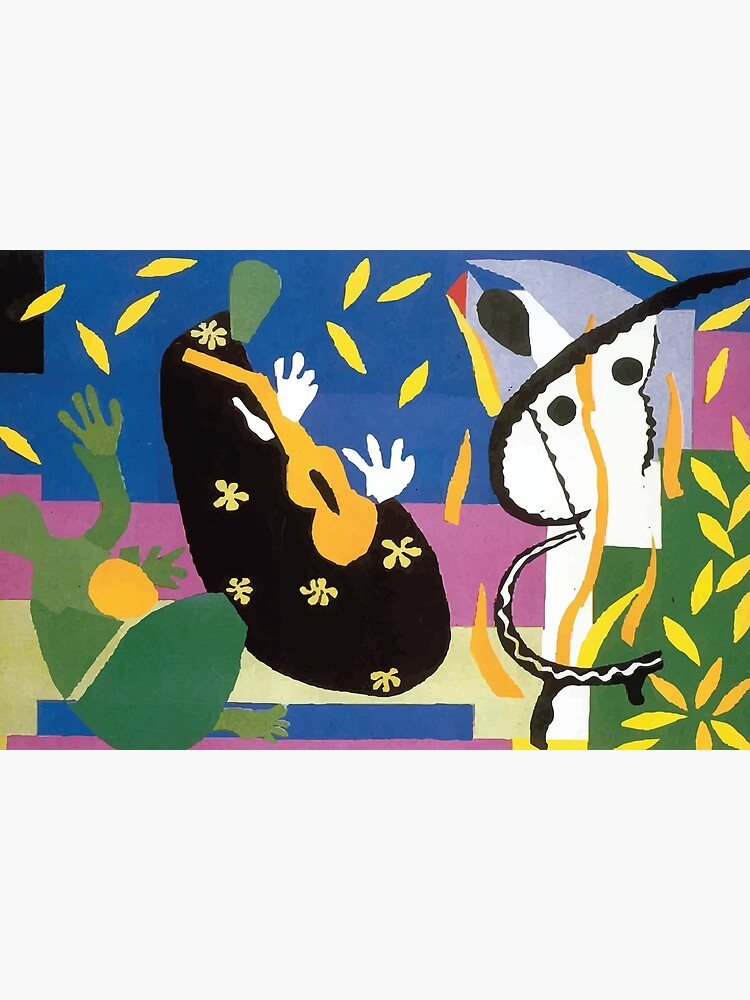 Henri Matisse La Tristesse Du Roi : henri, matisse, tristesse, Carte, Postale, Henri, Matisse, Tristesse, Badguyduh, Redbubble