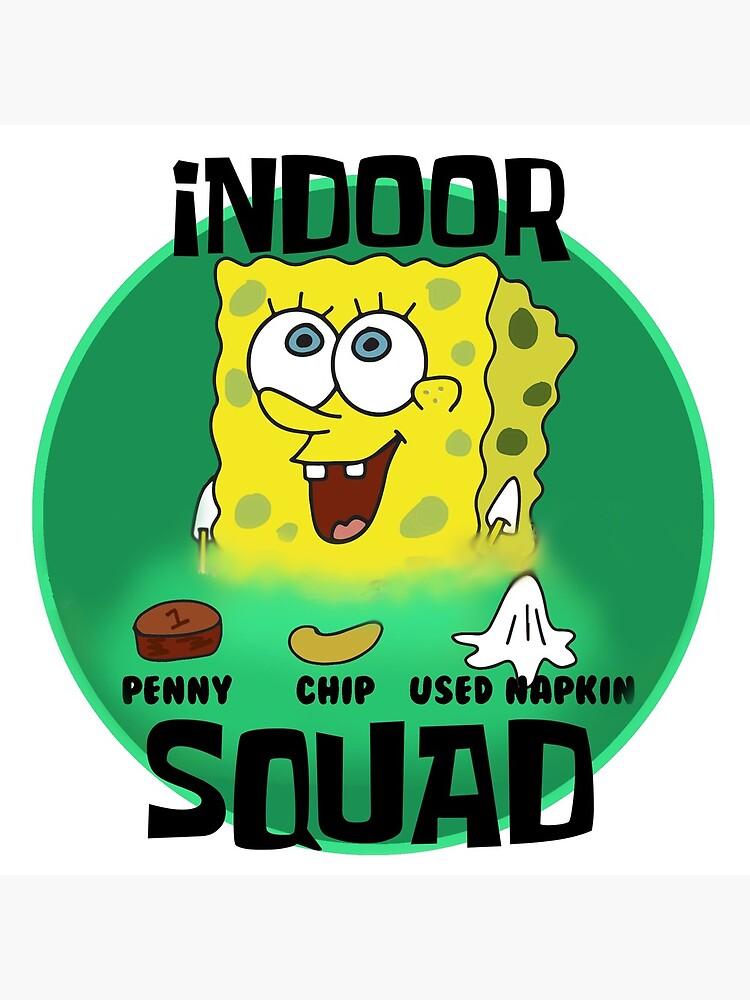 Spongebob Chip Penny Napkin : spongebob, penny, napkin, Penny,, Napkin