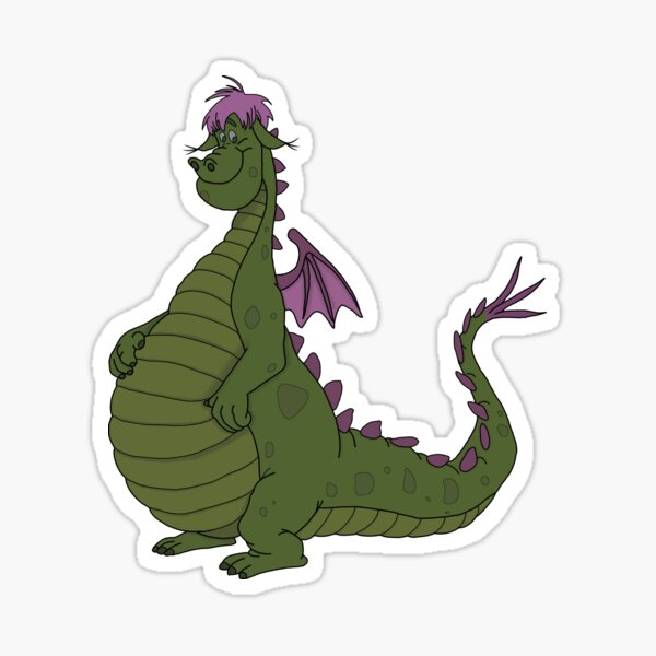 Petes Dragon Stickers Redbubble