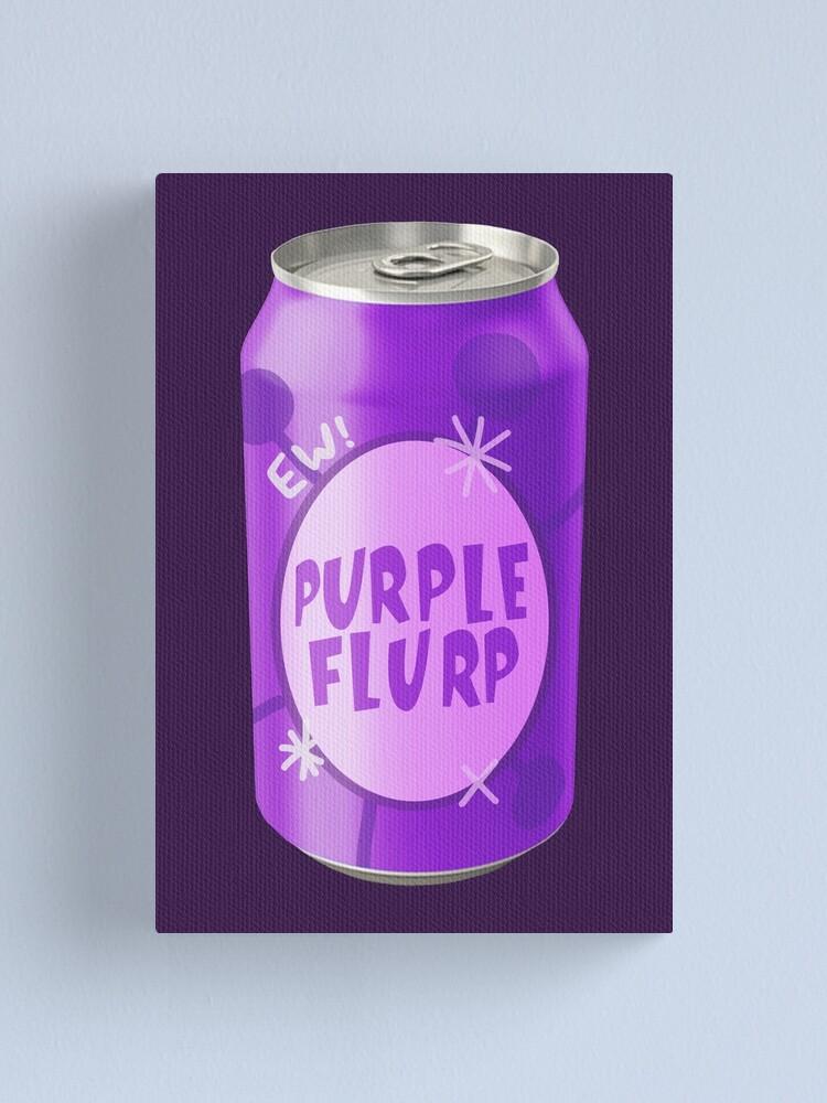 Jimmy Neutron Soda : jimmy, neutron, Purple, Flurp
