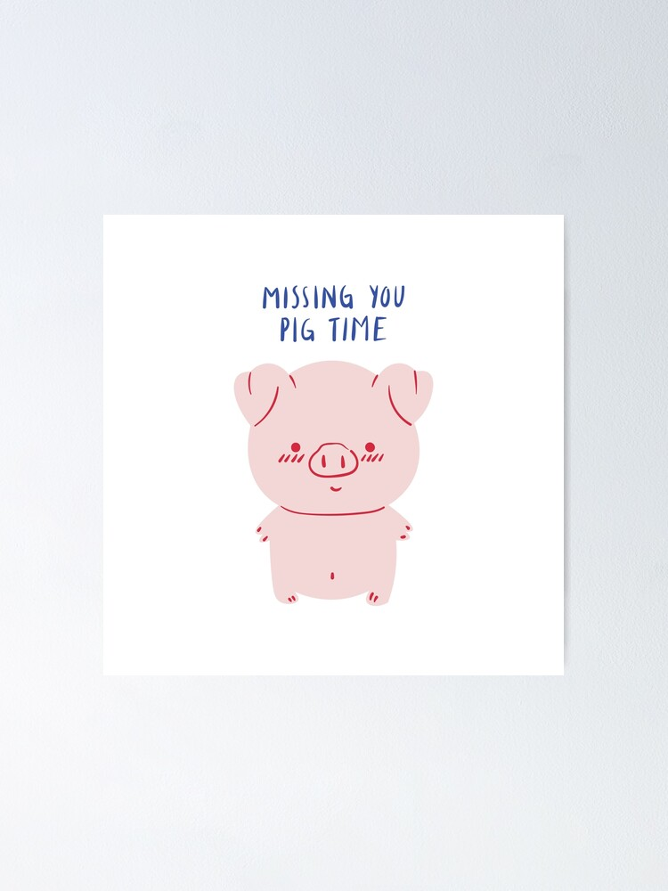 Cute Pig Quotes : quotes, Missing, Witty, Valentines, Quotes