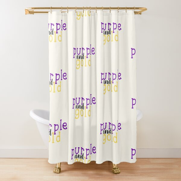 lsu shower curtains redbubble