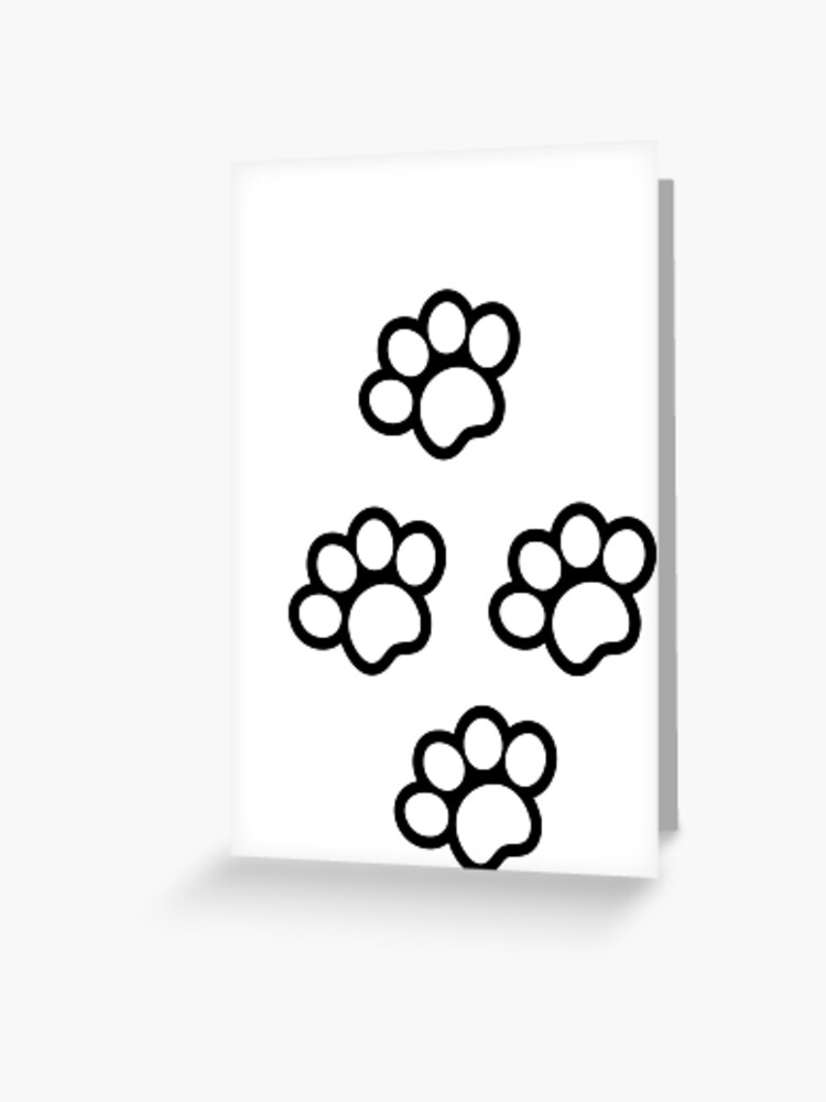 Cute Cat Paw Drawing : drawing, Paws