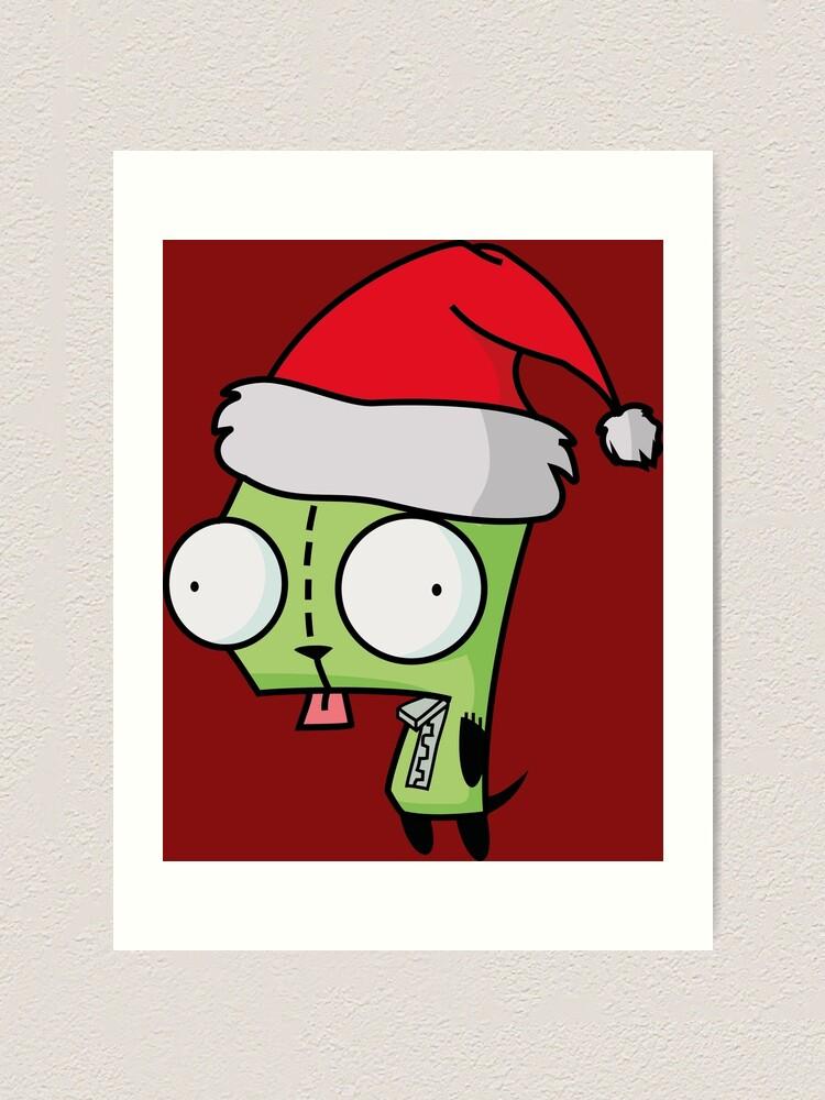 Invader Zim Santa : invader, santa, Invader, Santa, [Red]