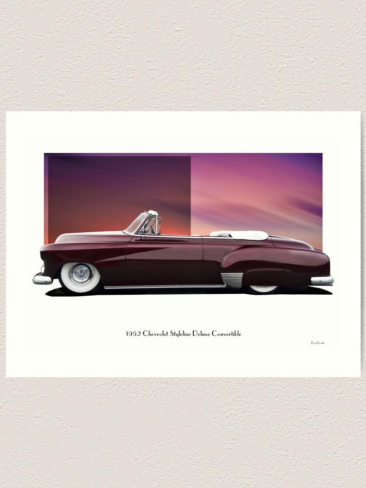 1952 Chevy Convertible : chevy, convertible, Chevrolet, Styleline, Deluxe, Convertible, 'Profile'